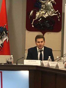 Руководитель Департамента торговли и услуг г. Москвы А.А. Немерюк