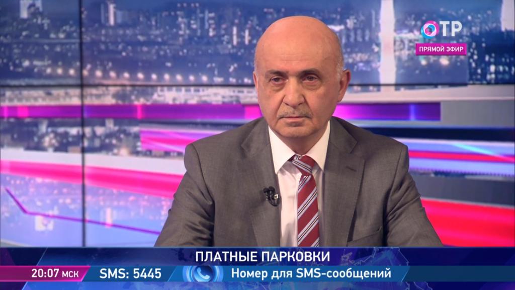 Блудян Норайр Оганесович на ОТР в прямом эфире