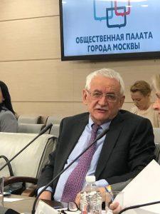 Член комиссии по транспортной политике Общественной палаты Москвы III созыва М.Я. Блинкин