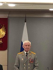 Старейший член Общественной палаты В.А. Скрябин