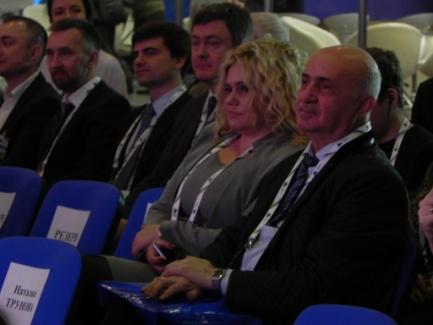 Директор Ассоциации «ТАМА» Норайр Оганесович Блудян с членом Ассоциации «ТАМА» Ракуловой Татьяной Сергеевной
