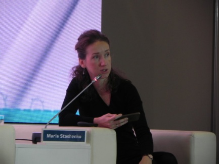 Выступление Марии Сташенко, основателя, партнера лаборатории дизайн-мышления Wonderfull