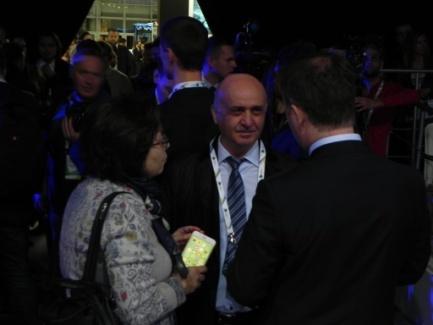 Директор Ассоциации «ТАМА» с членами МСОТ