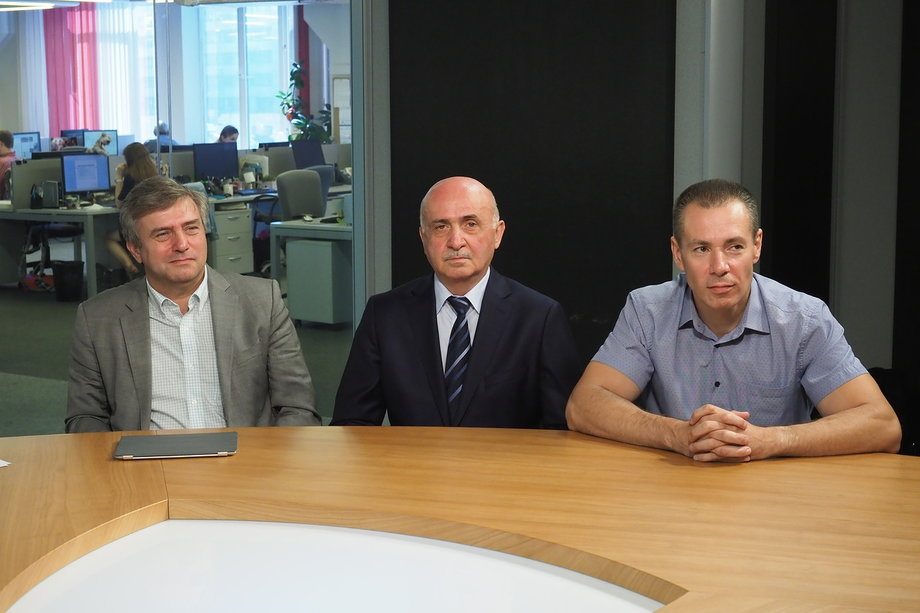 Блудян Норайр Оганесович за круглым столом