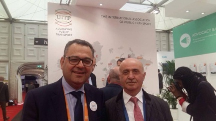 Mohamed Mezghani- UITP Secretary General-Elect and Bludyan N.O. — Association»TAMA» President