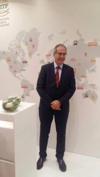Pere Calvet Tordera — UITP President (Выступление с приветственной речью на открытии пленарного заседания)