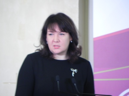 Заместитель руководителя Федеральной службы по надзору в сфере образования и науки Н. Наумова