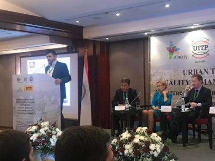 Айриев Радион Саркисович на конференции МСОТ в Казахстане