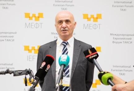 Блудян Норайр Оганесович на пресс-подходе на МЕФТ