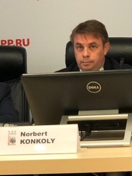 Норберт Конкой, Чрезвычайный и Полномочный посол Венгрии в России