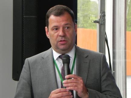 Приветственное слово Д.В. Пронина — Заместителя Руководителя Департамента транспорта и развития дорожно-транспортной инфраструктуры города Москвы