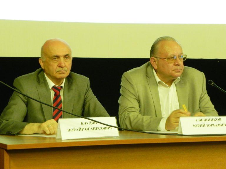 Блудян Норайр Оганесович на публичном обсуждение результатов правоприменительной практики ЦМУГАДН за II квартал 2019 года