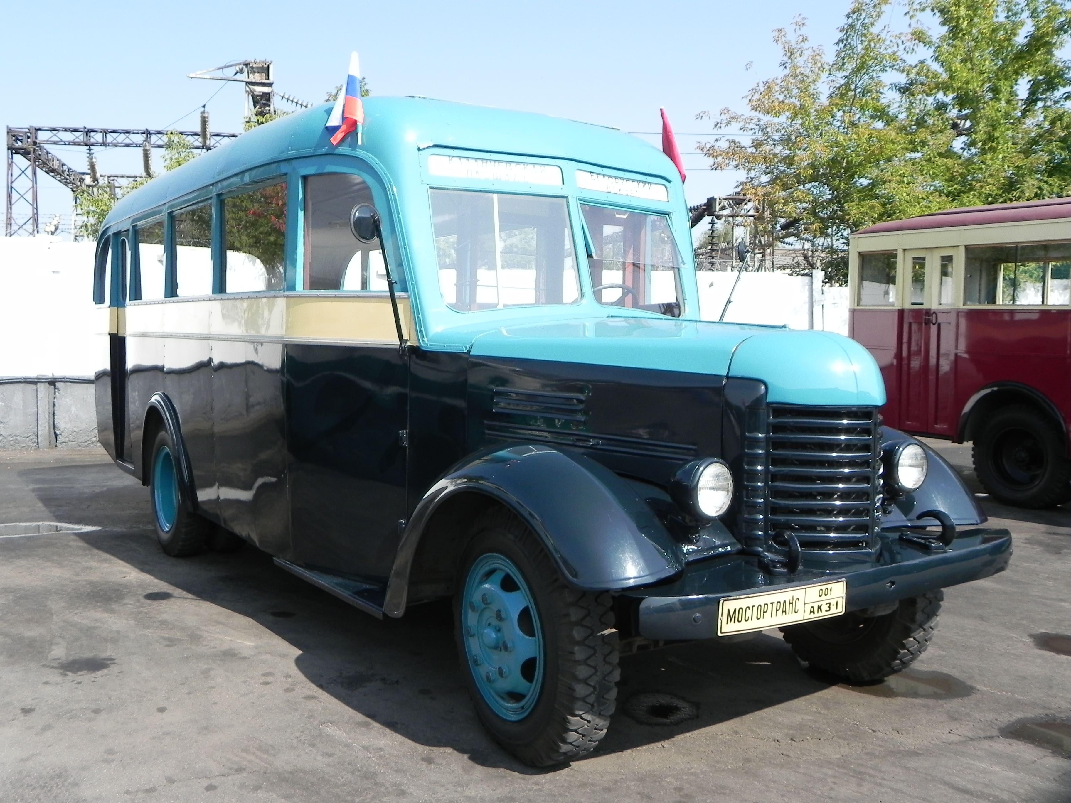 ретро автобусы