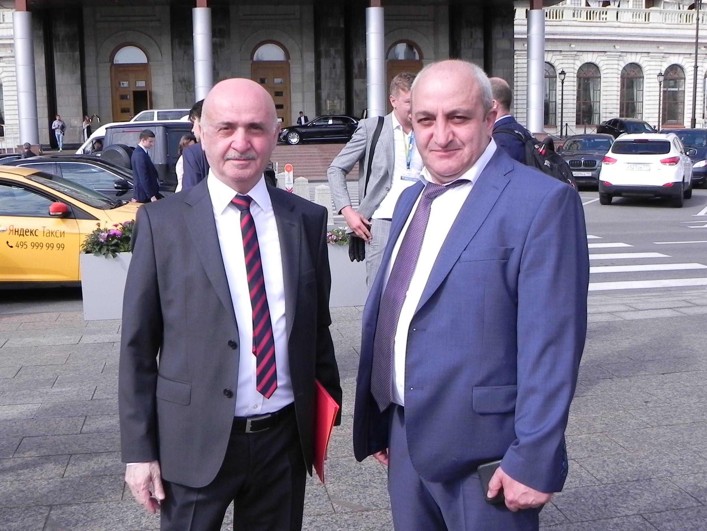 Н.О. Блудян с Р.А. Григорян
