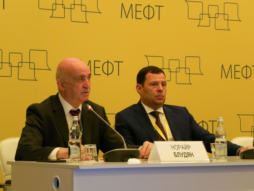 Н.О. Блудян на МЕФТ 2019
