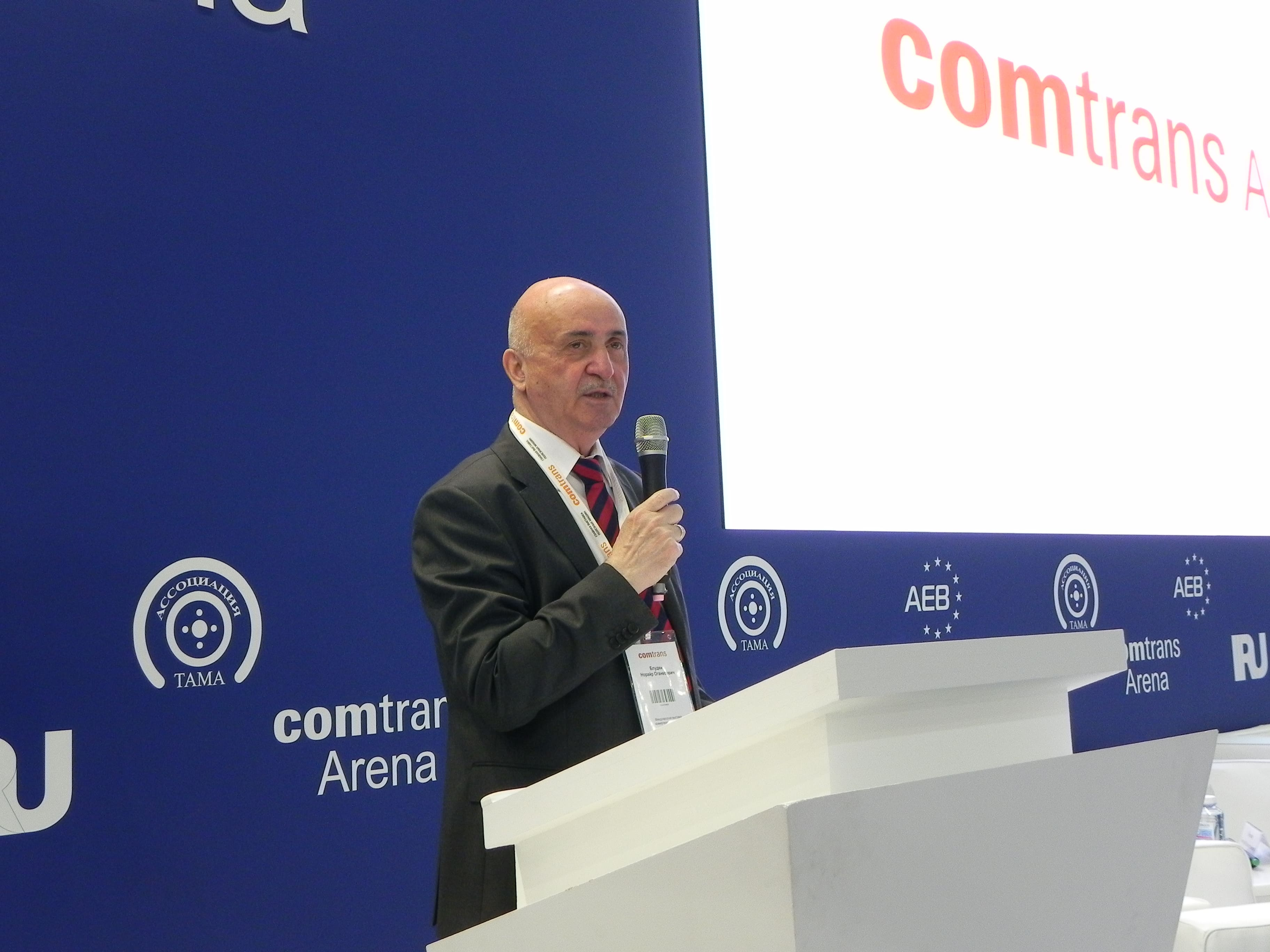 Блудян Норайр Оганесович на Comtrans 2019