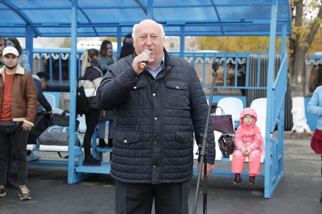 А.Л. Шуриков на Московском Региональном этапе Конкурса профессионального мастерства «Лучший водитель такси в России — 2019»