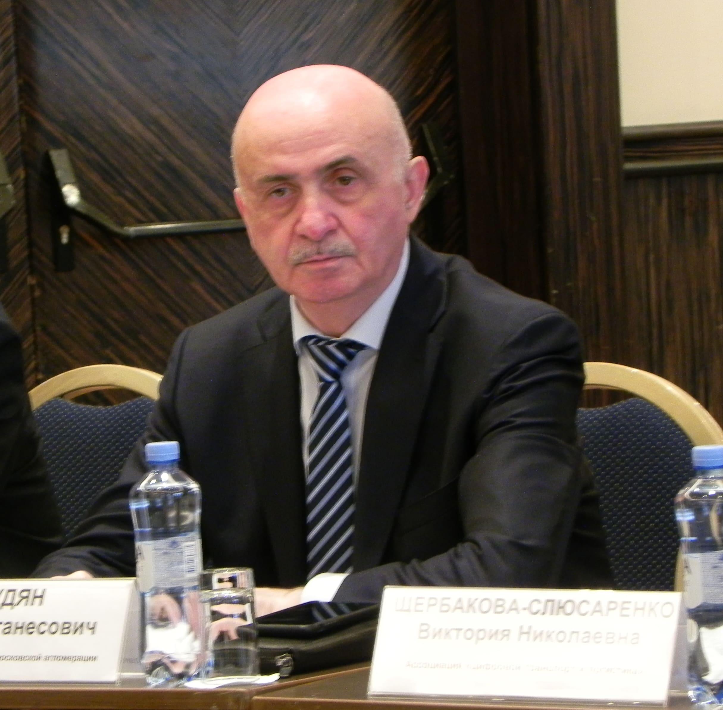 Блудян Норайр Оганесович на заседании МОЭС