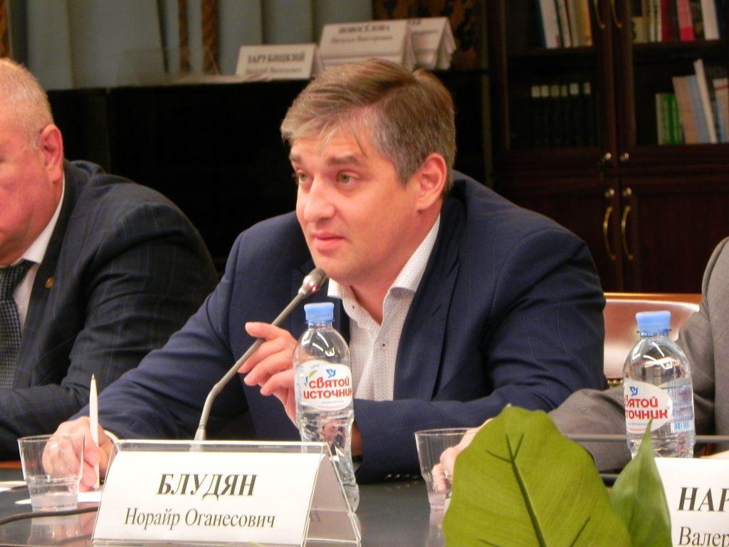 Председатель Комиссии по транспорту Общественной палаты города Москвы М.И. Буре