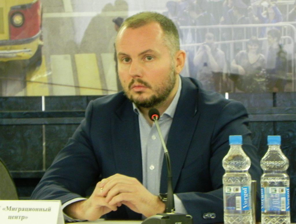 Н. Н. Дуванков - начальник управления организации обслуживания ГБУ «Миграционный центр»
