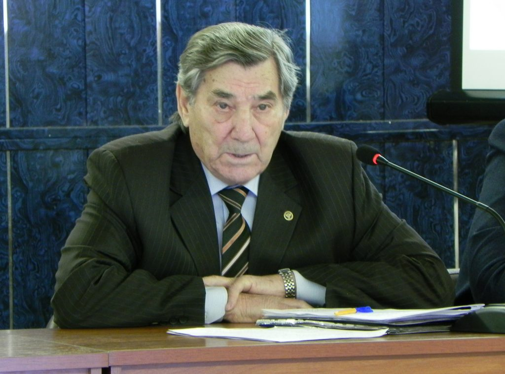 Вице-президент Союза Транспортников России Е.Д. Казанцев