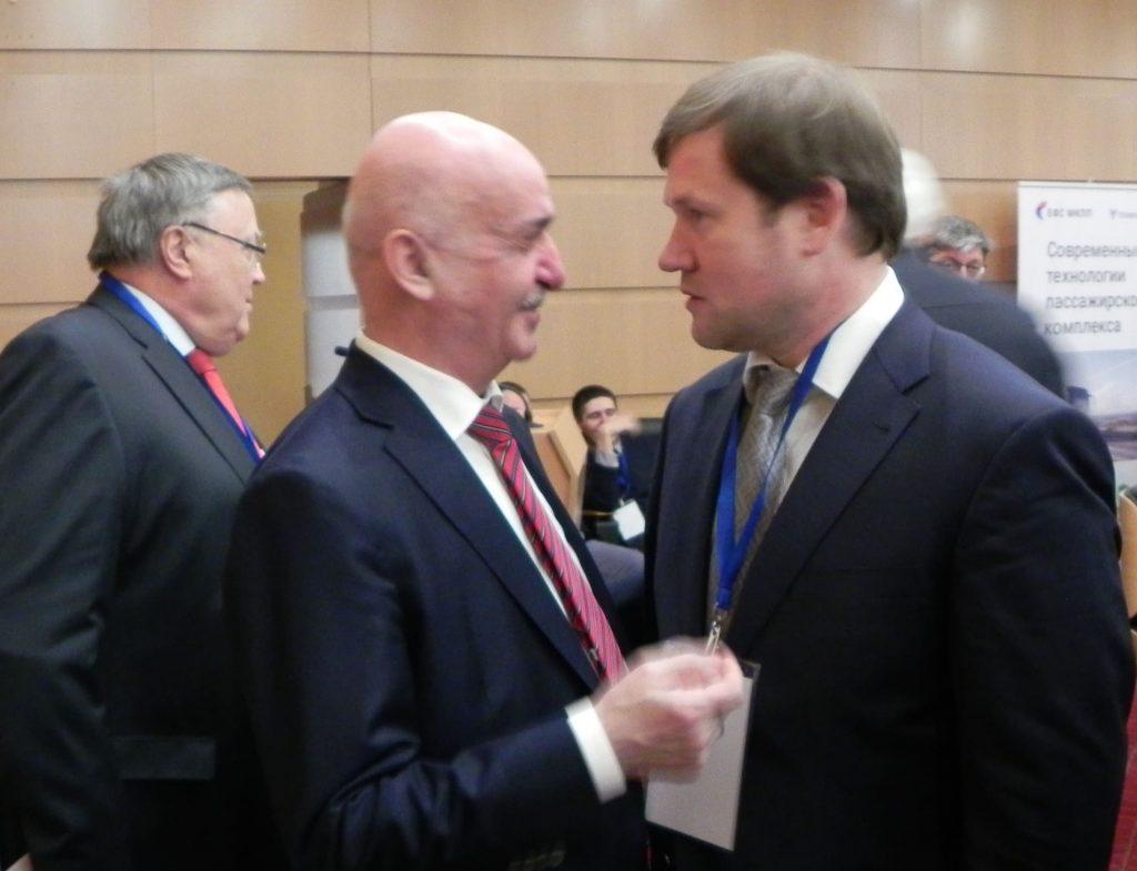 Директор Ассоциации «ТАМА» Н.О. Блудян и Генеральный директор ФБУ Росавтотранс А.К. Двойных