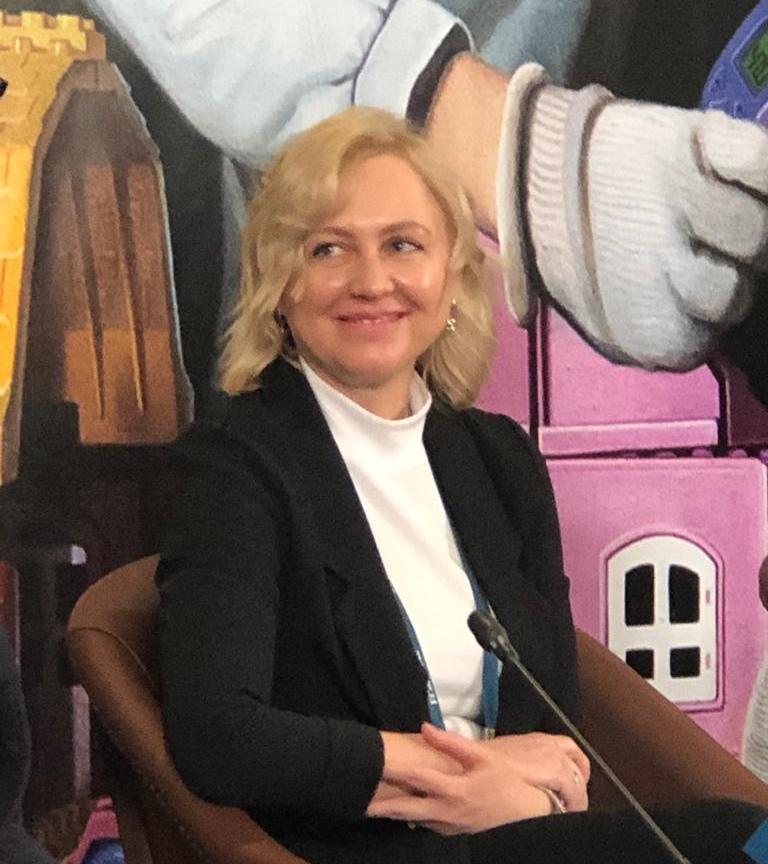 Е.В. Драгунова, председатель Комитета общественных связей и молодежной политики города Москвы