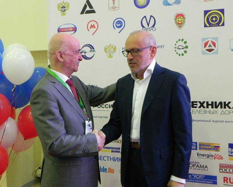 Директор Ассоциации «ТАМА» Н.О. Блудян,  Президент  «ПК Транспортные системы» Ф.Л. Винокур