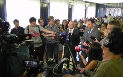 Блудян Норайр Оганесович дает интервью